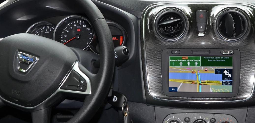 Test Dacia Media Nav Evolution (Sandero Lauréate dCi 90) - GPS