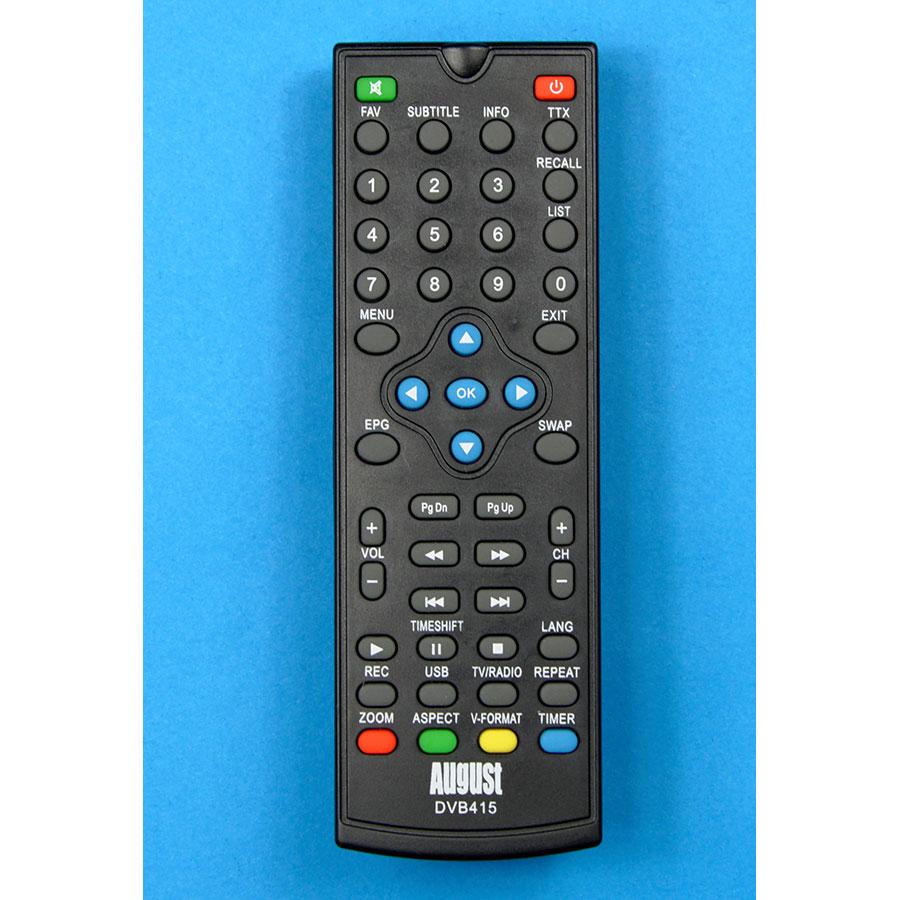 August DVB415 - Télécommande
