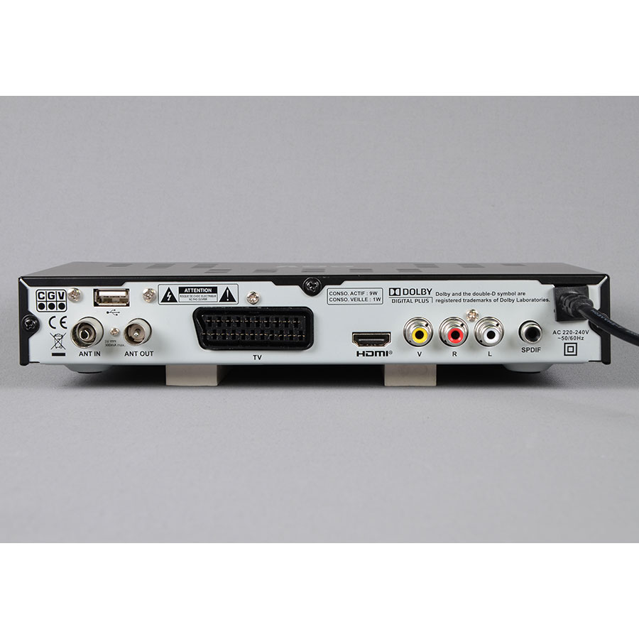 CGV Etimo 2T - Connectique à l'arrière