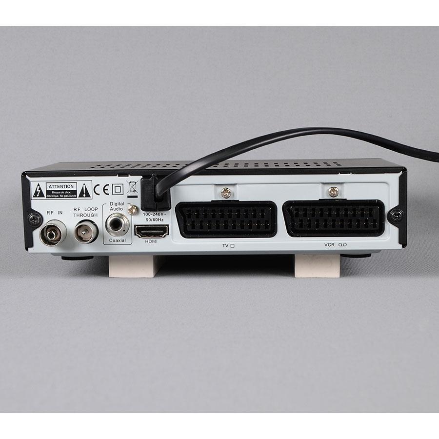 Listo TNTHD-916 - Connectique à l'arrière