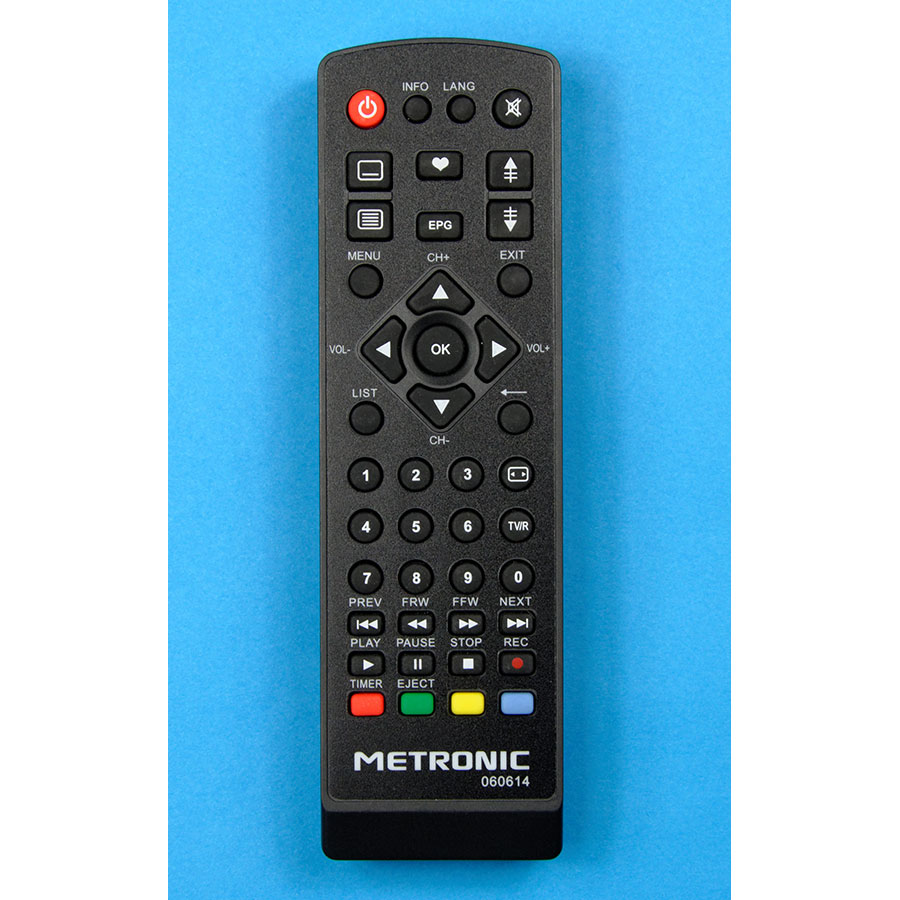 Metronic Zapbox HD-S1.1 - Télécommande