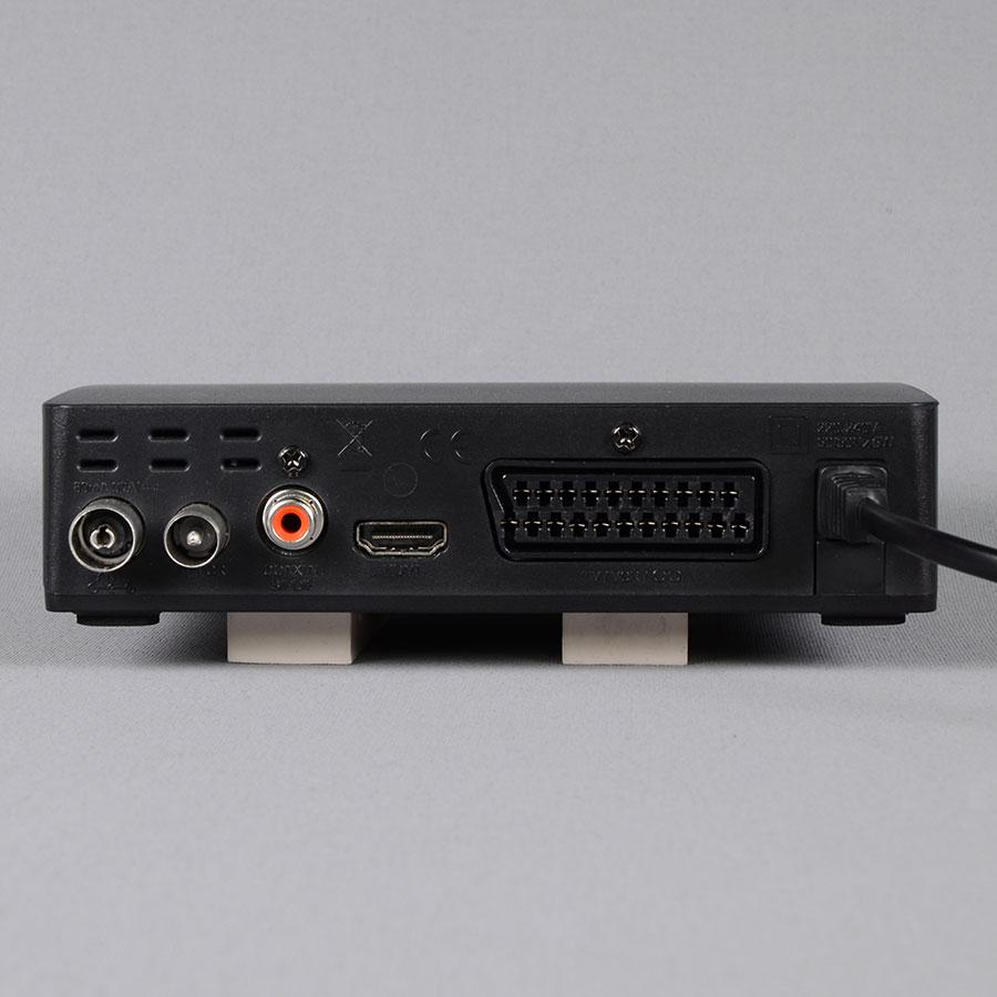 Metronic Zapbox HD-S1.1 - Connectique à l'arrière