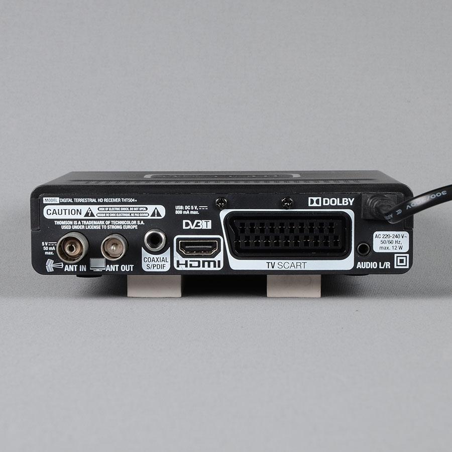 Thomson THT504+ - Connectique à l'arrière