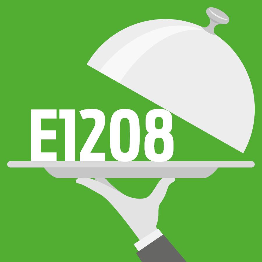 E1208 Copolymère d'acétate de vinyle et de polyvinylpyrrolidone -