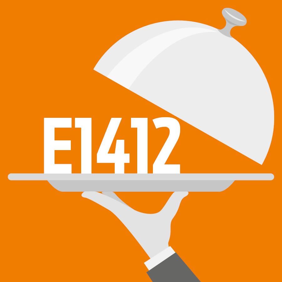 E1412 Amidon modifié, phosphate de diamidon -