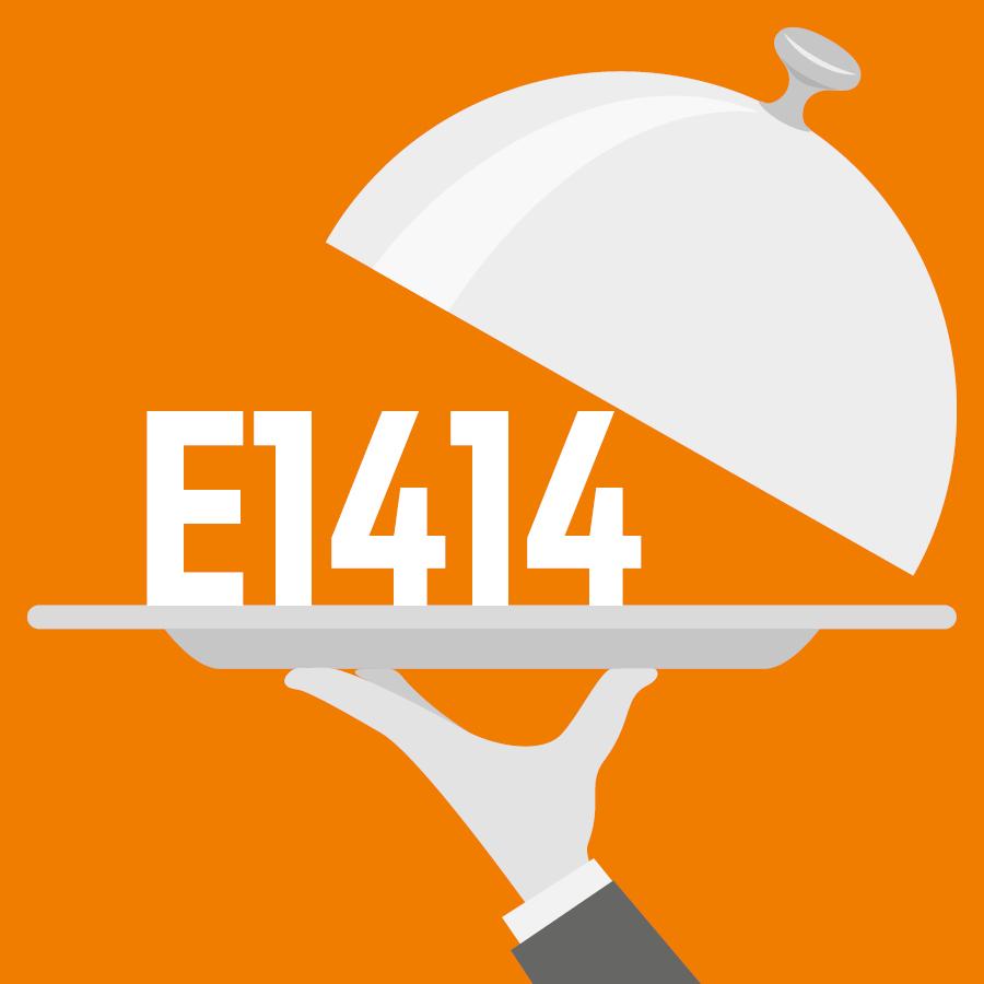 E1414 Amidon modifié, phosphate de diamidon acétylé -