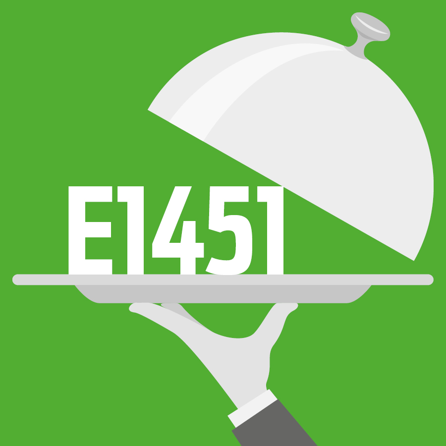 E1451 Amidon modifié, amidon oxydé acétylé -