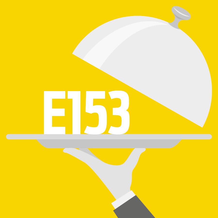 E153 Charbon végétal -