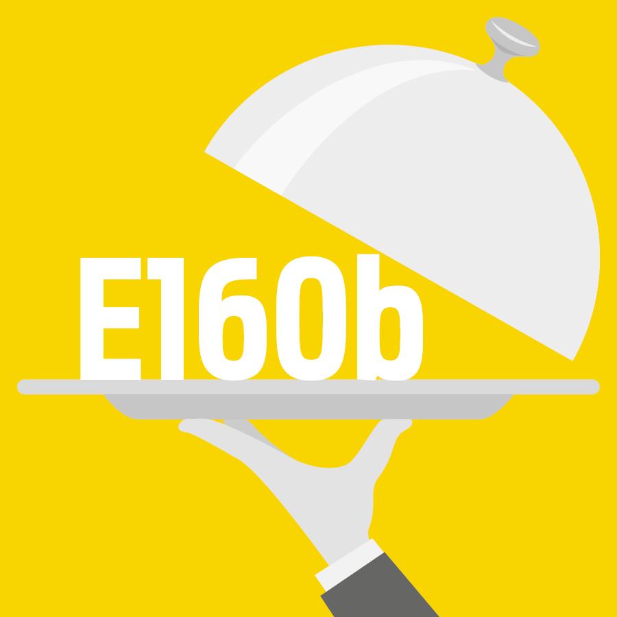 E160b Rocou, Annatto, Bixine, Norbixine -