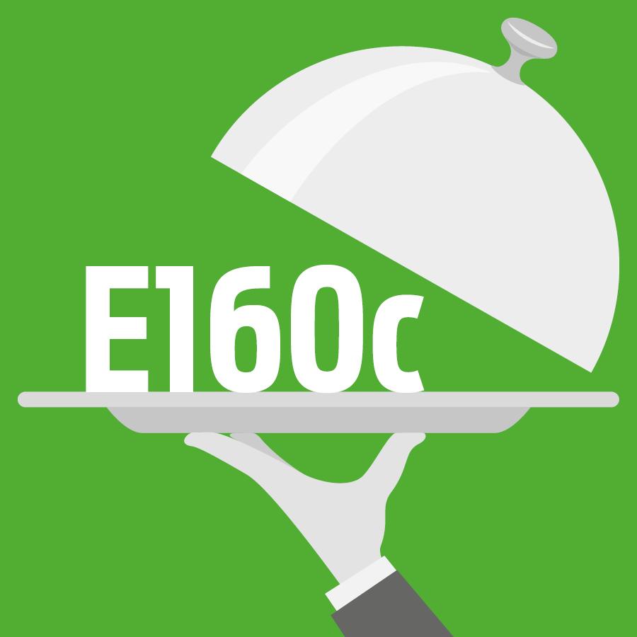 E160c Extrait de paprika, capsanthine, capsorubine -