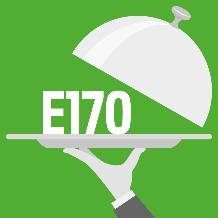 E170 Carbonate de calcium -