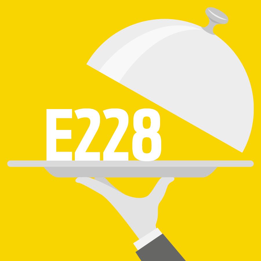 E228 Bisulfite de potassium -