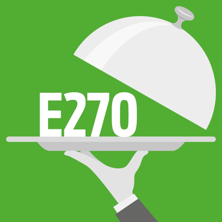 E270 Acide lactique -