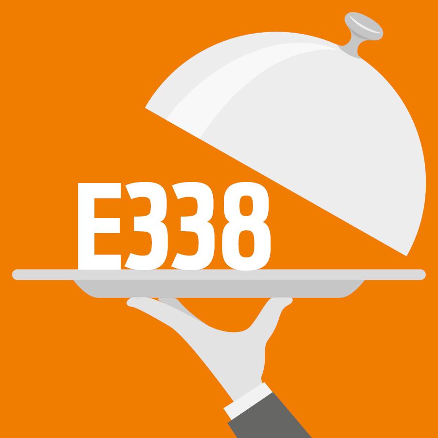 E338 Acide phosphorique, Acide orthophosphorique -