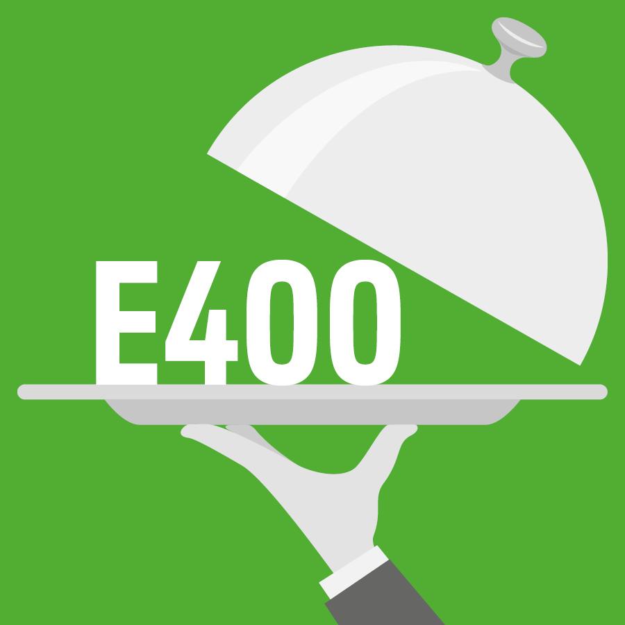 E400 Acide alginique -