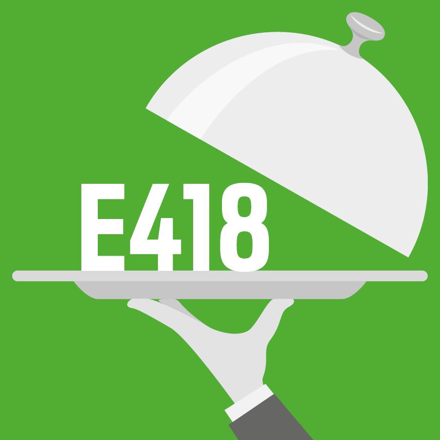 E418 Gomme gellane -