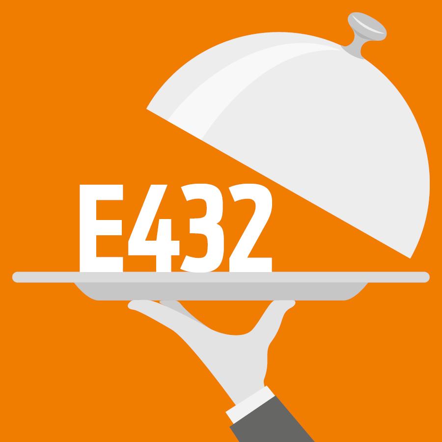 E432 Polysorbate 20, Tween 20, Monolaurate de sorbitane polyoxyéthylène -