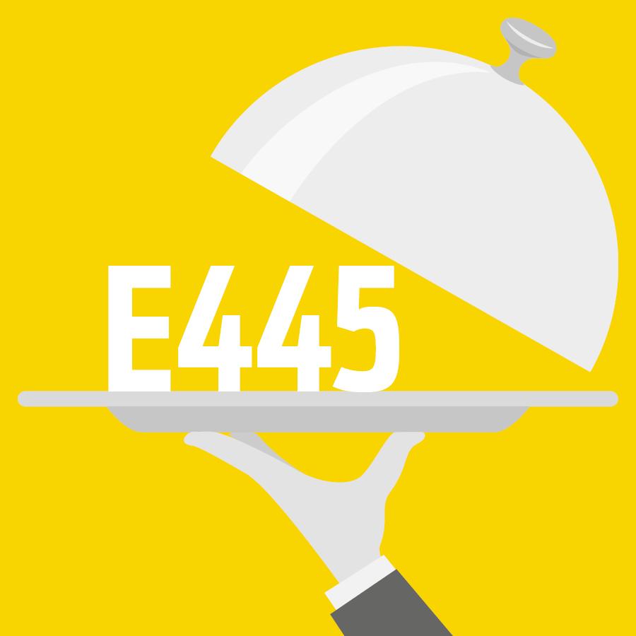 E445 Ester glycérique de résines de bois -
