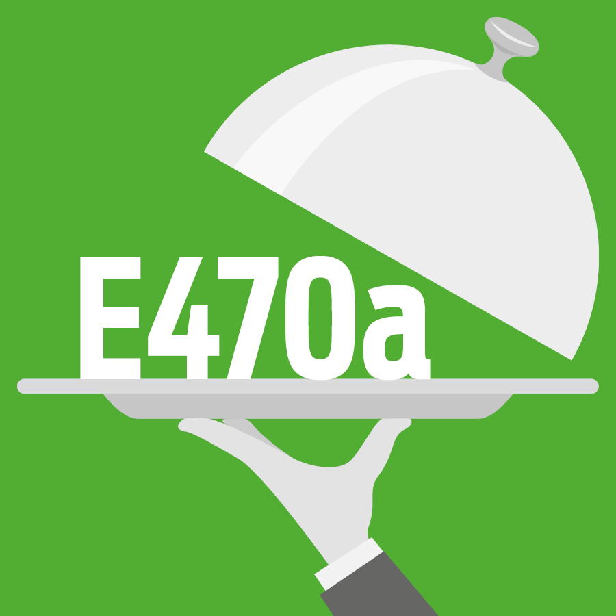 E470a Sels de sodium, de potassium et de calcium d'acides gras -