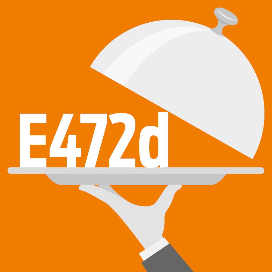 E472d Esters tartriques des mono- et diglycérides d'acides gras -