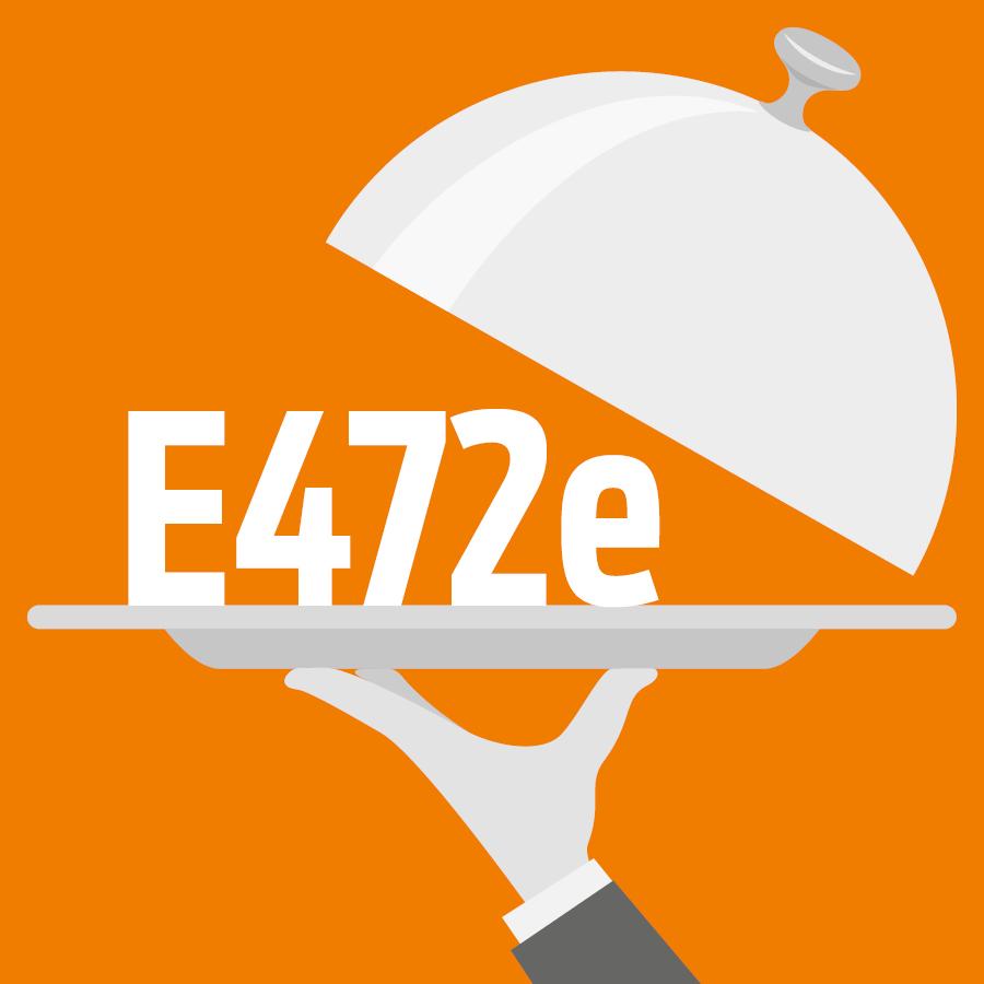 E472e Esters mono- et diacétyltartriques des mono- et diglycérides d'acides gras -