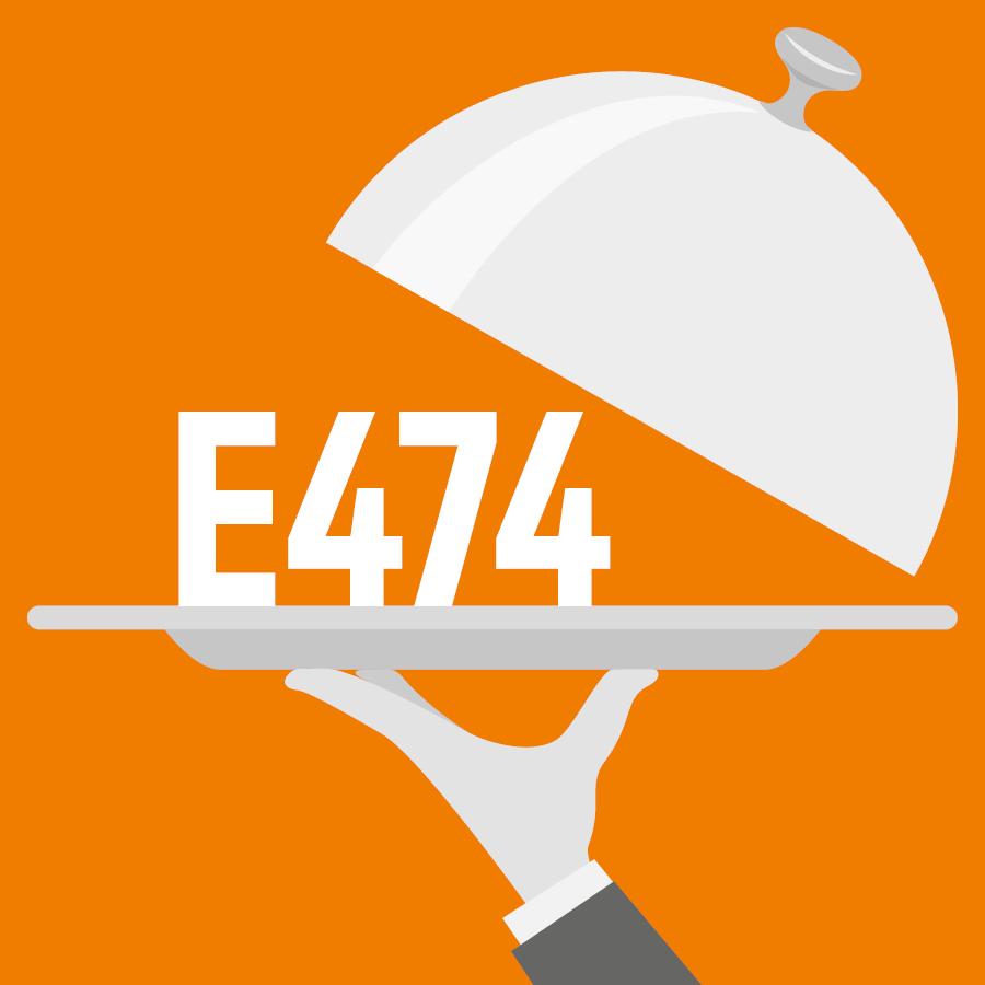 E474 Sucroglycérides, Saccharoglycérides -