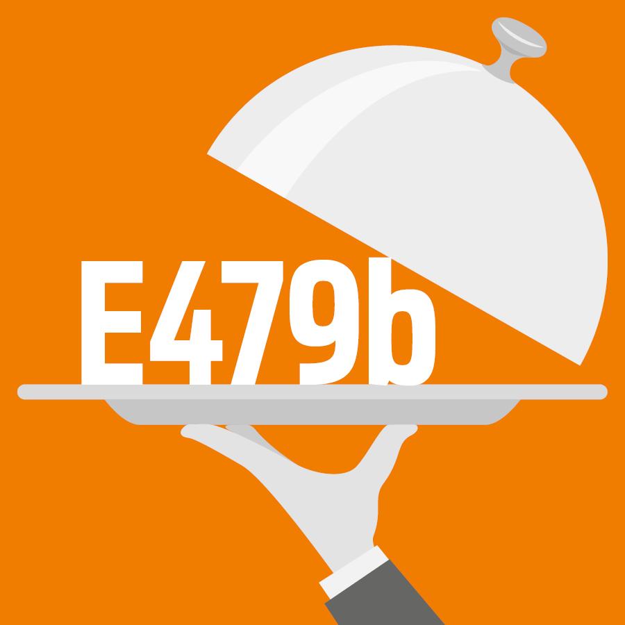 E479b Huile de soja oxydée par chauffage en interaction avec des mono et diglycérides d'acides gras -