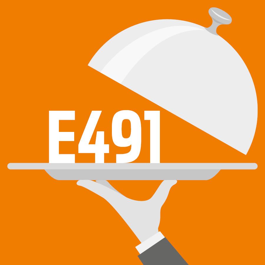 E491 Monostéarate de sorbitane -