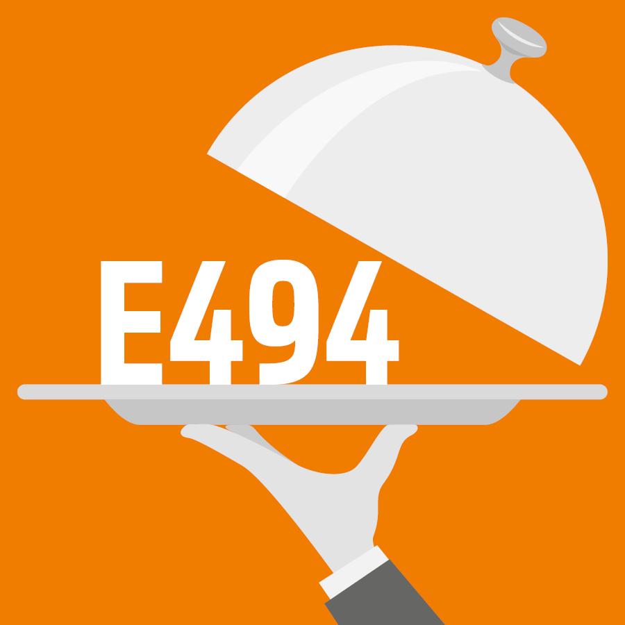 E494 Monooléate de sorbitane -
