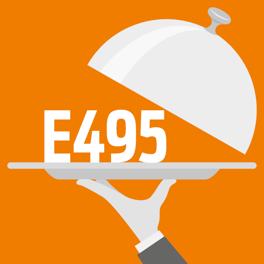 E495 Monopalmitate de sorbitane -