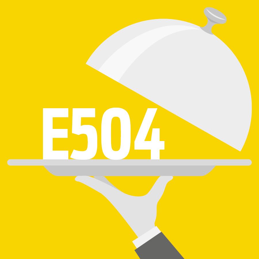 E504 Carbonates de magnésium -