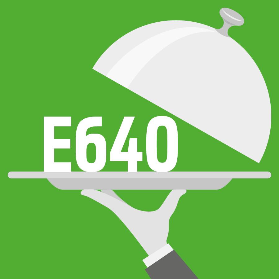 E640 Glycine et son sel de sodium -