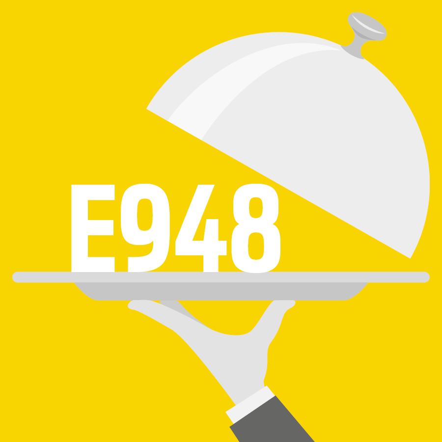 E948 Oxygène -