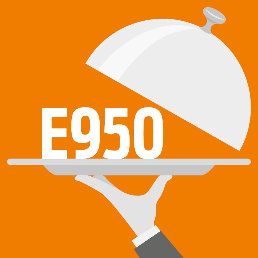 E950 Acésulfame potassium, Acésulfame K -