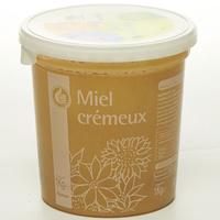Pouce levé (Auchan) Miel de fleurs crémeux (*1*)