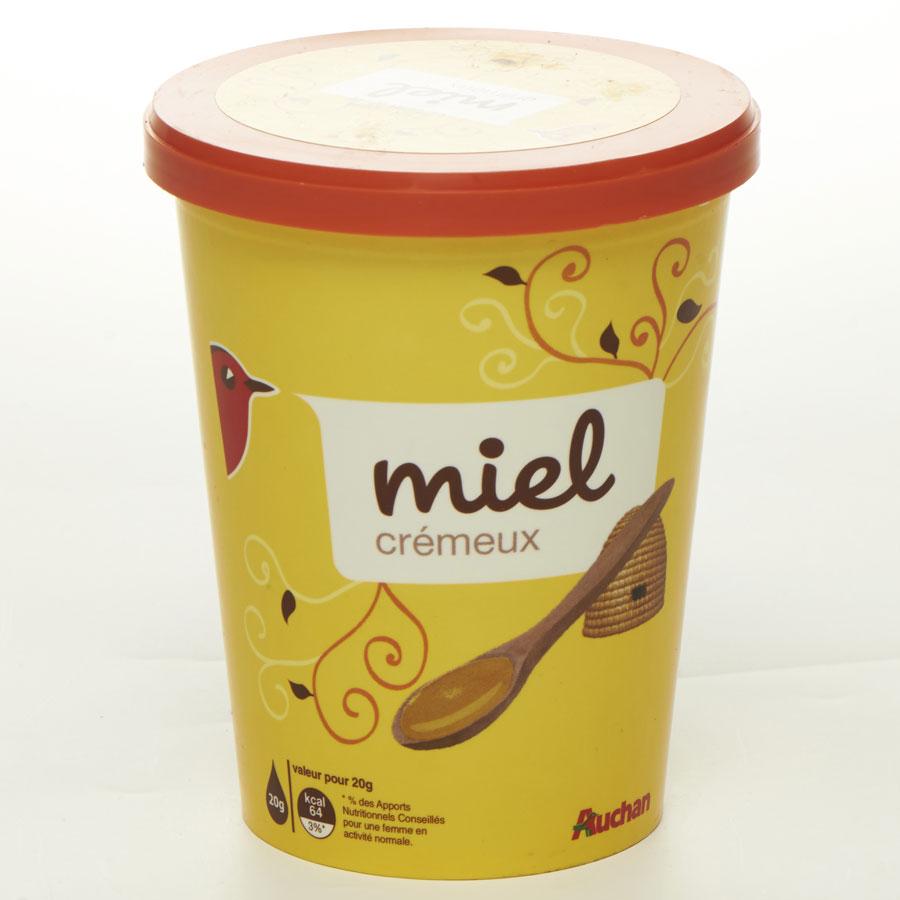 Auchan Miel crémeux -
