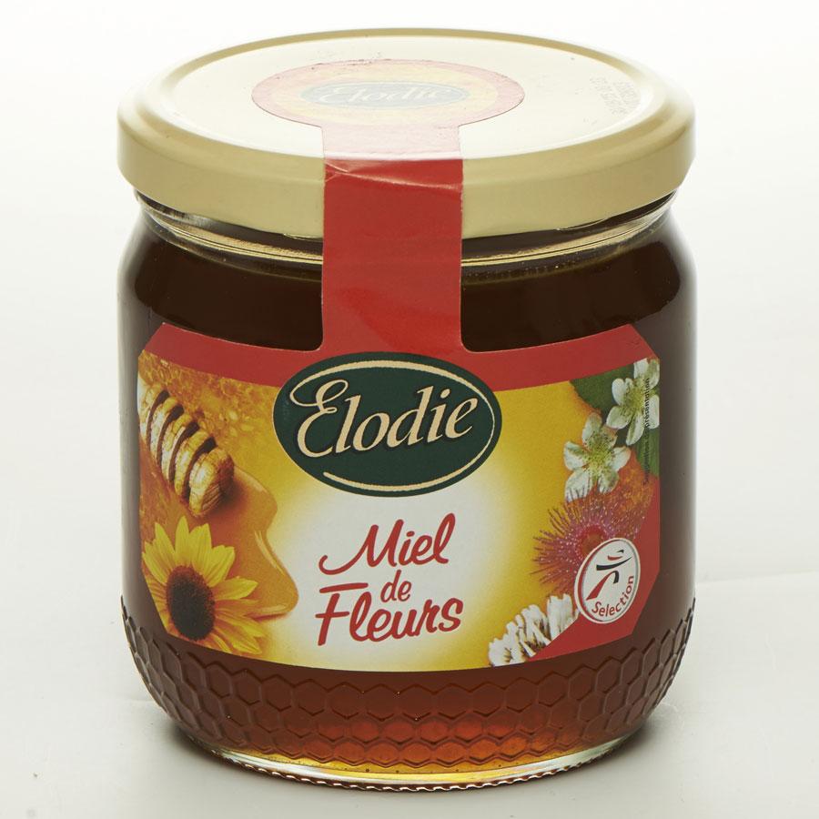 Elodie (Intermarché) Miel de fleurs liquide -