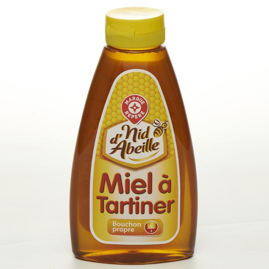 Nid d'abeille (Marque repère Leclerc) Miel à tartiner -
