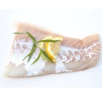 Filets de cabillaud congelés sans arête, sans peau, pêchés en ANE (*1*)