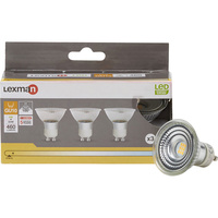 Lexman (Leroy Merlin) GU10 LED 460 lumens 5W (Blister 3 spots)