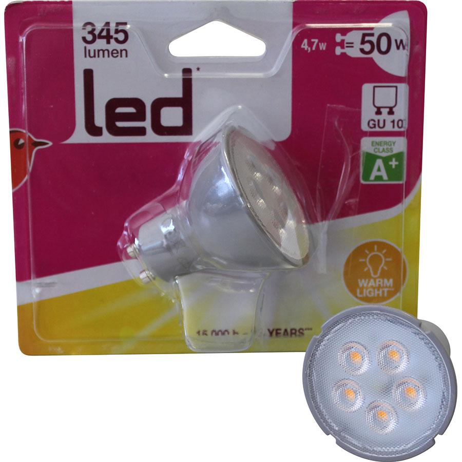 Auchan GU10 345 lumens (x2) -