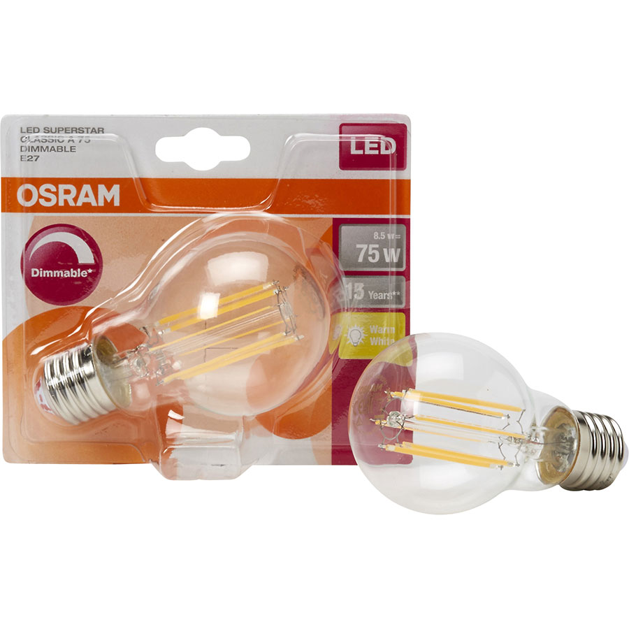 Osram LED Superstar Classic A75 Dimmable E27 -