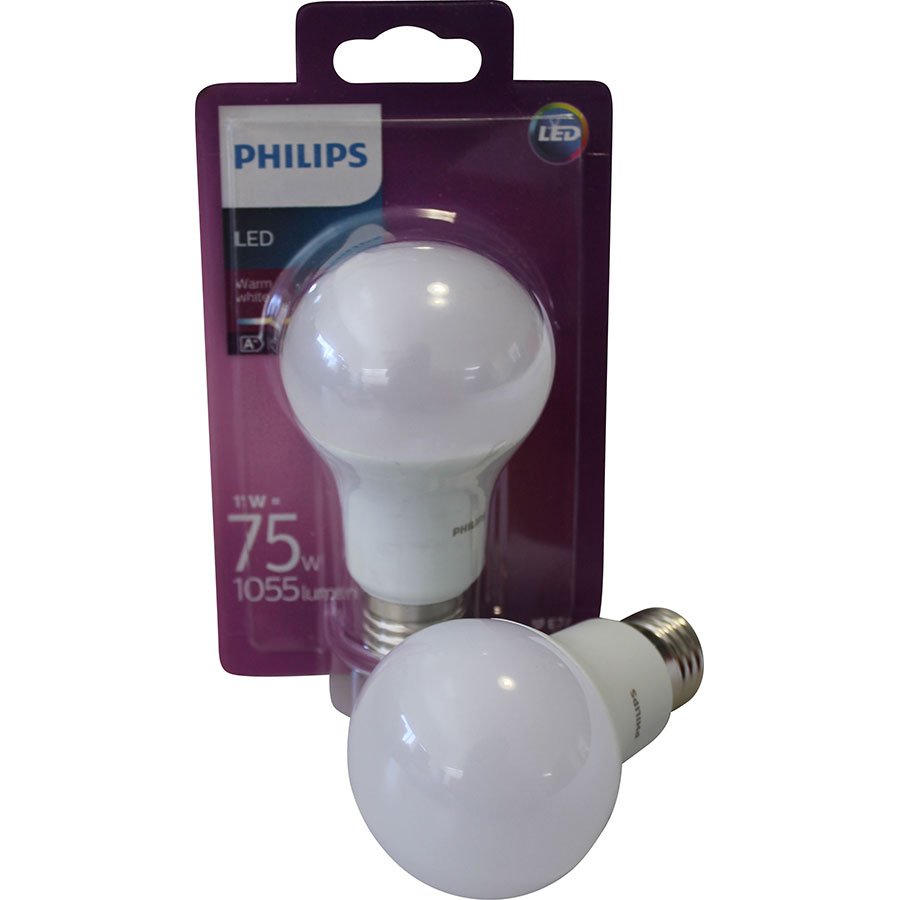 test philips a60 11 w ampoules led ufc que choisir. Black Bedroom Furniture Sets. Home Design Ideas