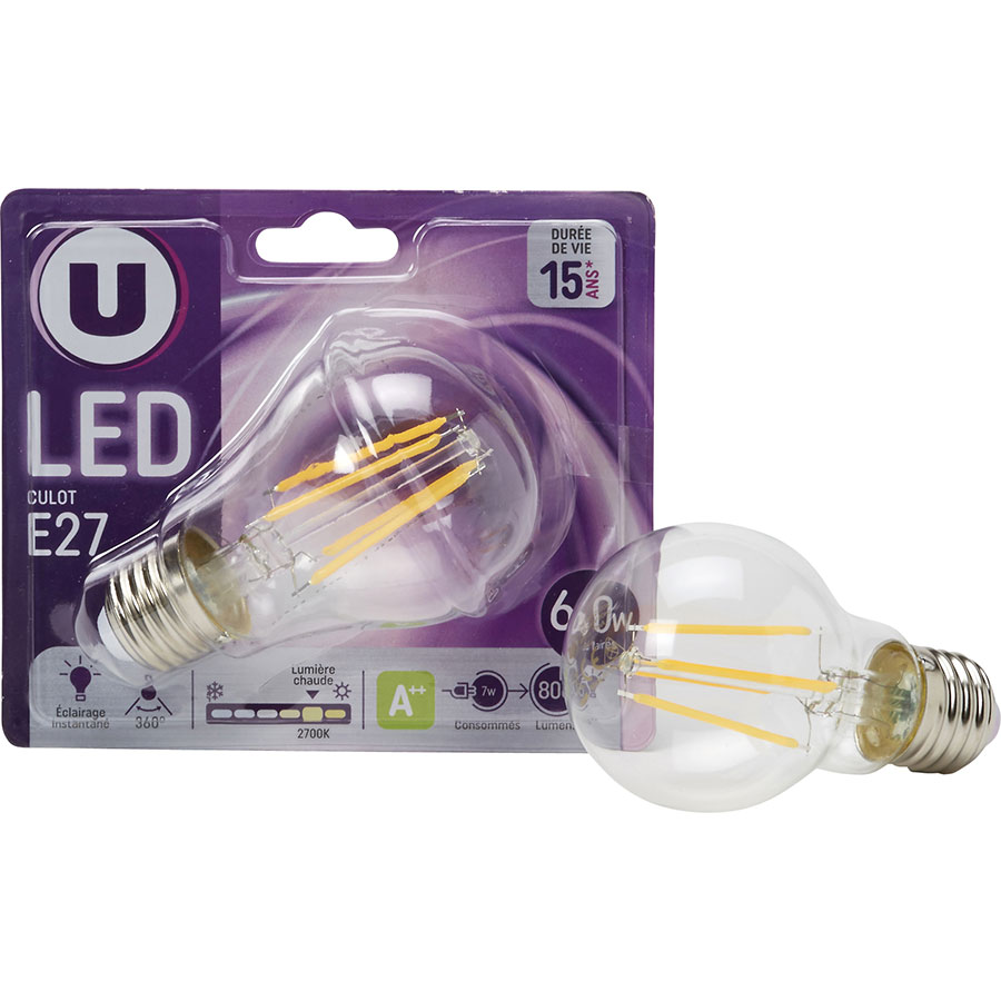 SuperU LED culot E27 -
