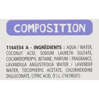 P'tit Dop Lotion radicale poux + lentes - Étiquetage de la composition