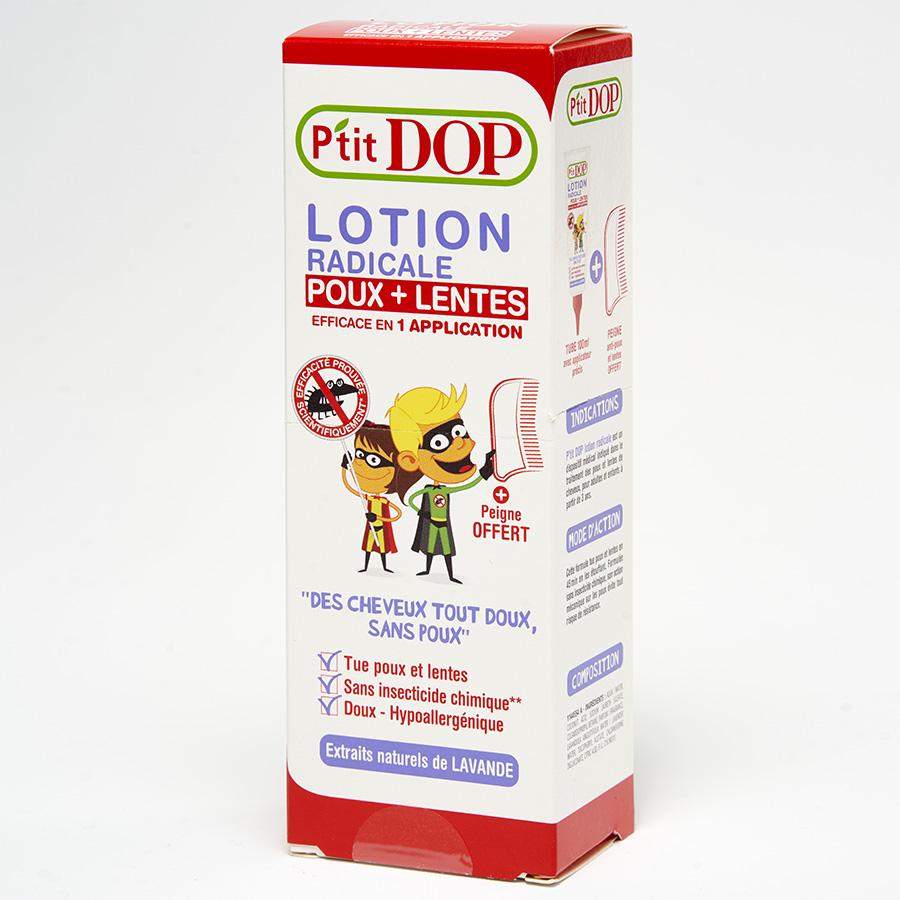 P'tit Dop Lotion radicale poux + lentes -
