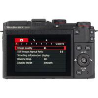 Canon PowerShot G3 X - Vue du dessus