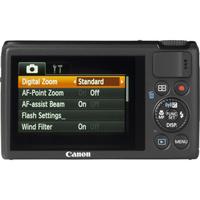 Canon PowerShot S200 - Vue de dos