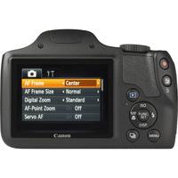 Canon PowerShot SX520 HS - Vue du dessus