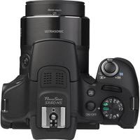 Canon PowerShot SX60 HS - Vue du dessus